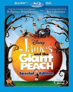 James and the giant peach [Blu-ray + DVD combo] cover image