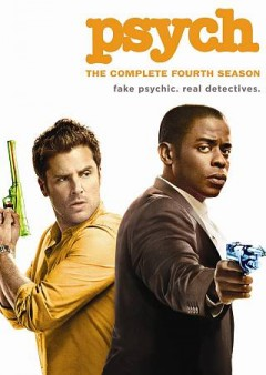 Psych. Season 4 cover image