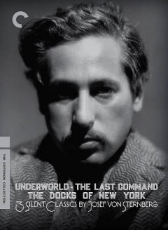 3 silent classics by Josef von Sternberg cover image