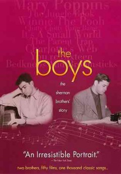 The boys the Sherman brothers' story cover image