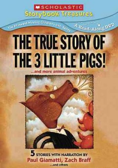 The true story of the three little pigs-- and more animal adventures cover image