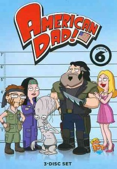 American dad!. Season 6 cover image