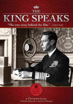 The king speaks a documentary cover image