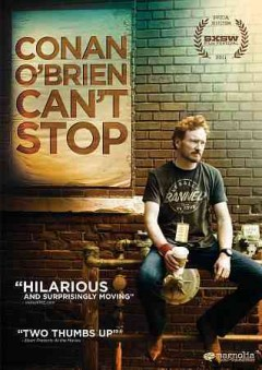 Conan O'Brien can't stop cover image