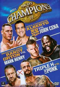 Night of champions 2011 cover image