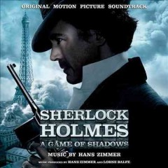 Sherlock Holmes. A game of shadows original motion picture soundtrack cover image