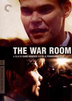 The war room cover image
