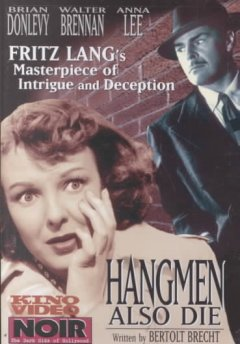 Hangmen also die cover image