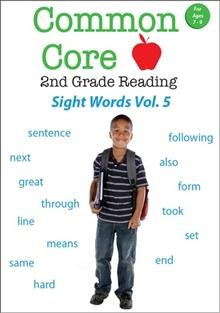 Common core 2nd grade reading. Sight words. Volume 5 cover image