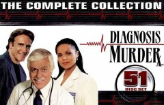 Diagnosis murder. Television movie collection cover image