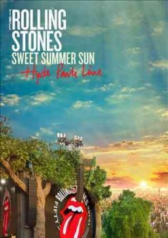 Sweet summer sun Hyde Park live cover image