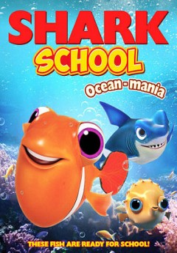 Shark school. Ocean-mania cover image