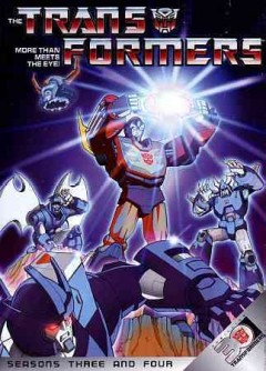 Transformers. Season 3, & 4 cover image