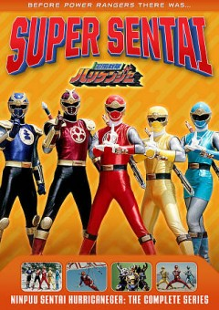 Super sentai. Ninpuu sentai hurricaneger the complete series cover image