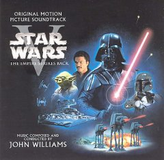 Star wars, episode V, the empire strikes back the original motion picture soundtrack cover image