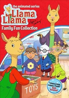 Llama llama family fun collection cover image