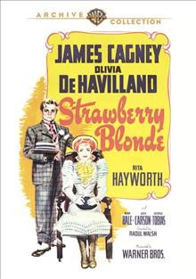 The strawberry blonde cover image