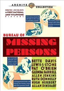 Bureau of Missing Persons cover image