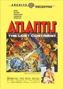 Atlantis the lost continent cover image