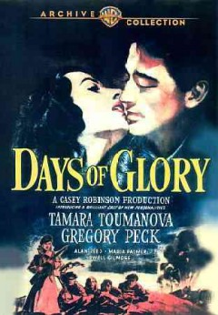 Days of glory Jours de gloire cover image