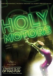 Holy motors cover image