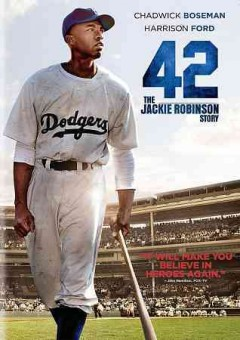 42 the Jackie Robinson story cover image