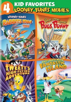4 kid favorites Looney tunes movies cover image