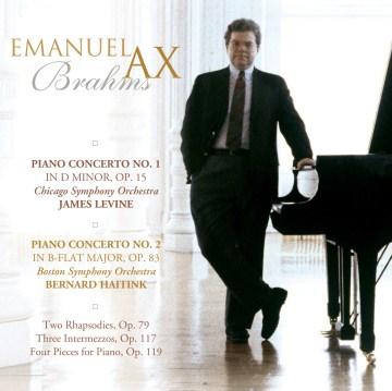 Brahms piano concertos cover image