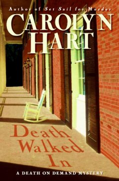 Death walked in : a death on demand mystery cover image