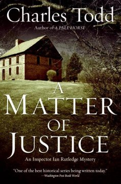A matter of justice cover image