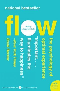 Flow : the psychology of optimal experience cover image