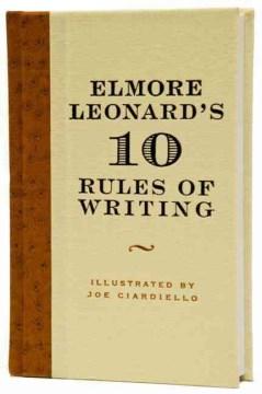 Elmore Leonard's 10 rules of writing cover image