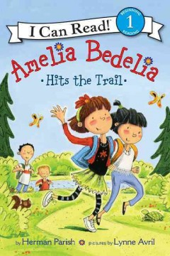 Amelia Bedelia hits the trail cover image