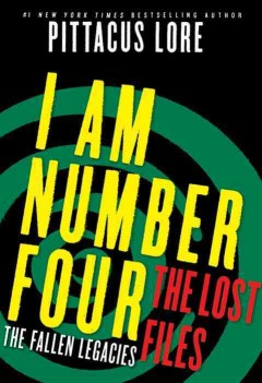 I am number four the lost files. 3, The fallen legacies cover image