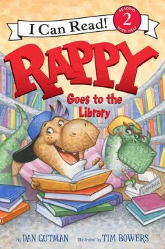 Rappy goes to the library cover image