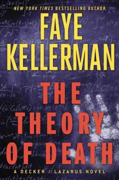 The theory of death : a Decker/Lazarus novel cover image