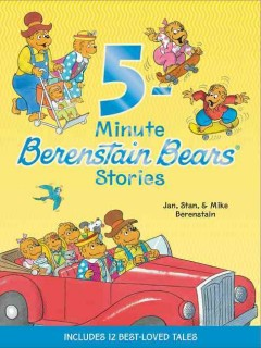 5 - minute Berenstain Bears stories cover image