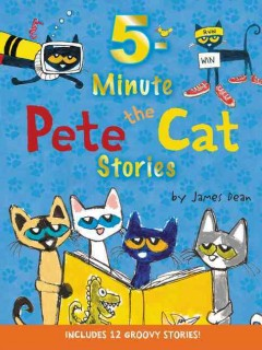 5-minute Pete the Cat stories cover image