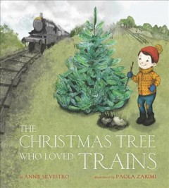 The Christmas tree who loved trains cover image