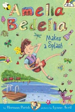 Amelia Bedelia makes a splash cover image