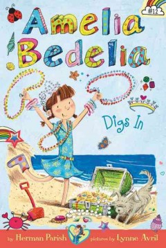Amelia Bedelia digs in cover image