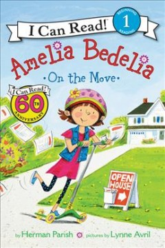 Amelia Bedelia on the move cover image