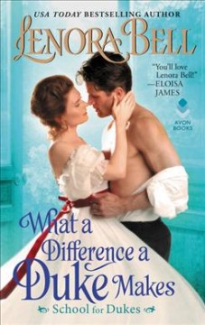 What a difference a duke makes cover image