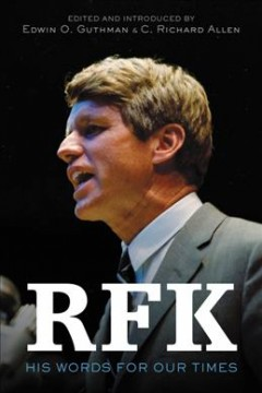 RFK : his words for our times cover image