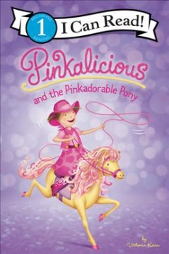 Pinkalicious and the pinkadorable pony cover image