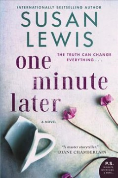 One minute later : a novel cover image