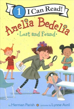 Amelia Bedelia lost and found cover image