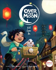 Over the Moon : let love in cover image