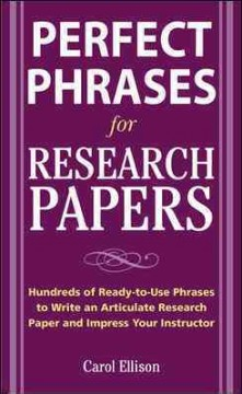 McGraw-Hill's concise guide to writing research papers cover image
