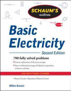Schaum's outline of basic electricity cover image